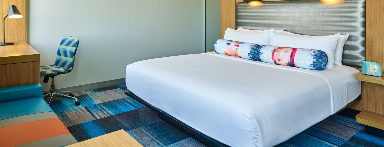 Plano Accommodations - Aloft King Room